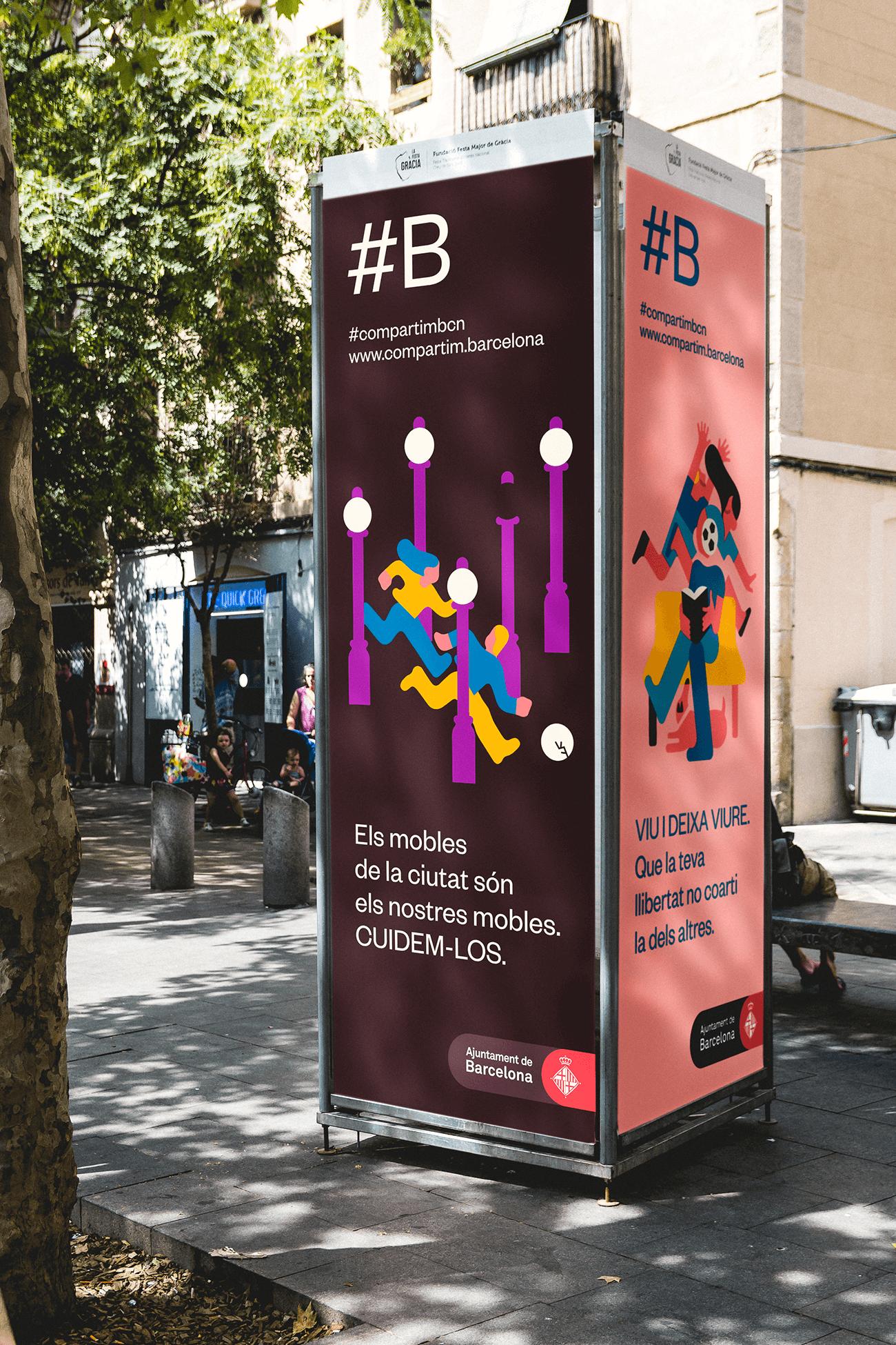 Ajuntament de Barcelona. Sharing Barcelona. Photos