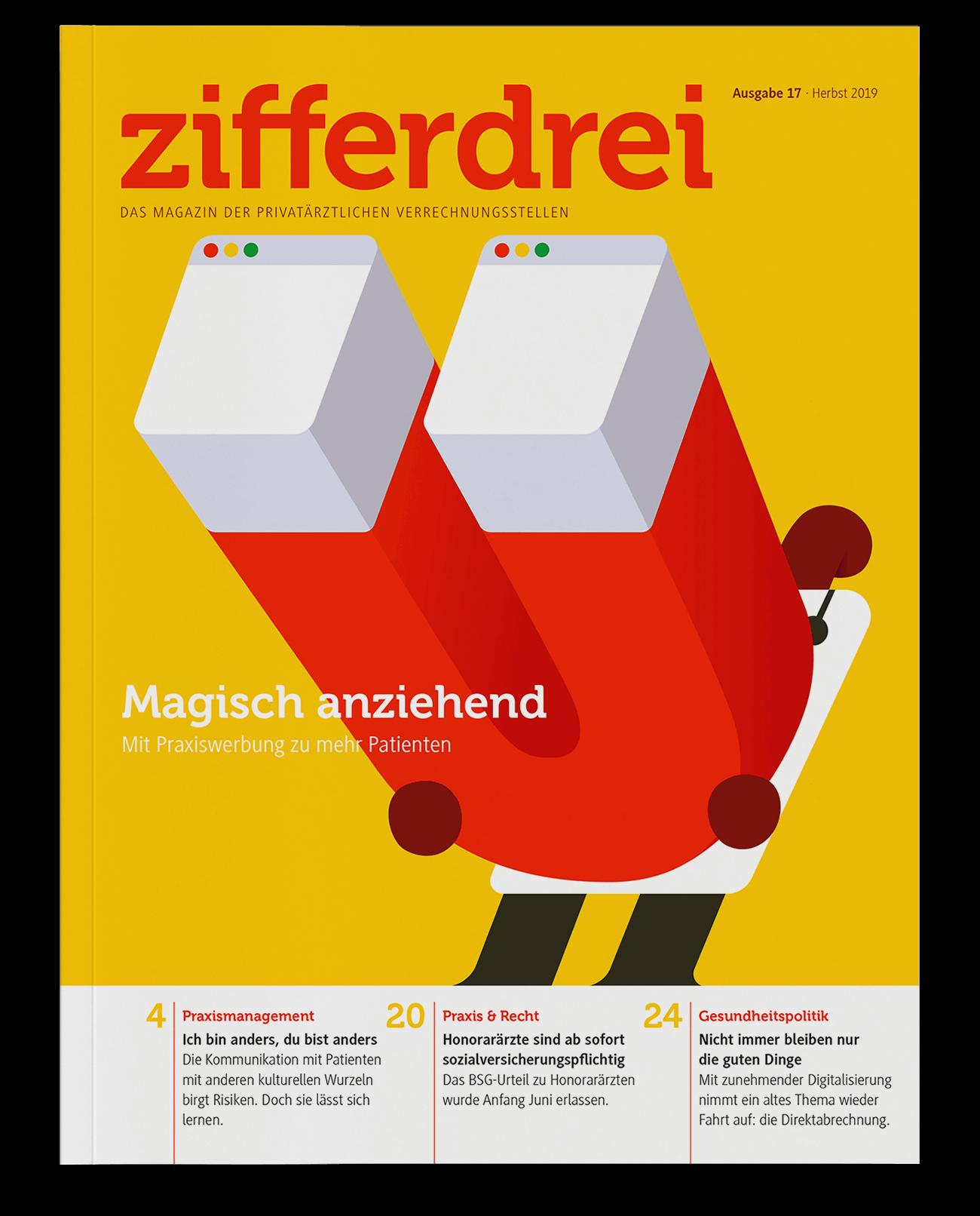 The magic of online promotion. Zifferdrei