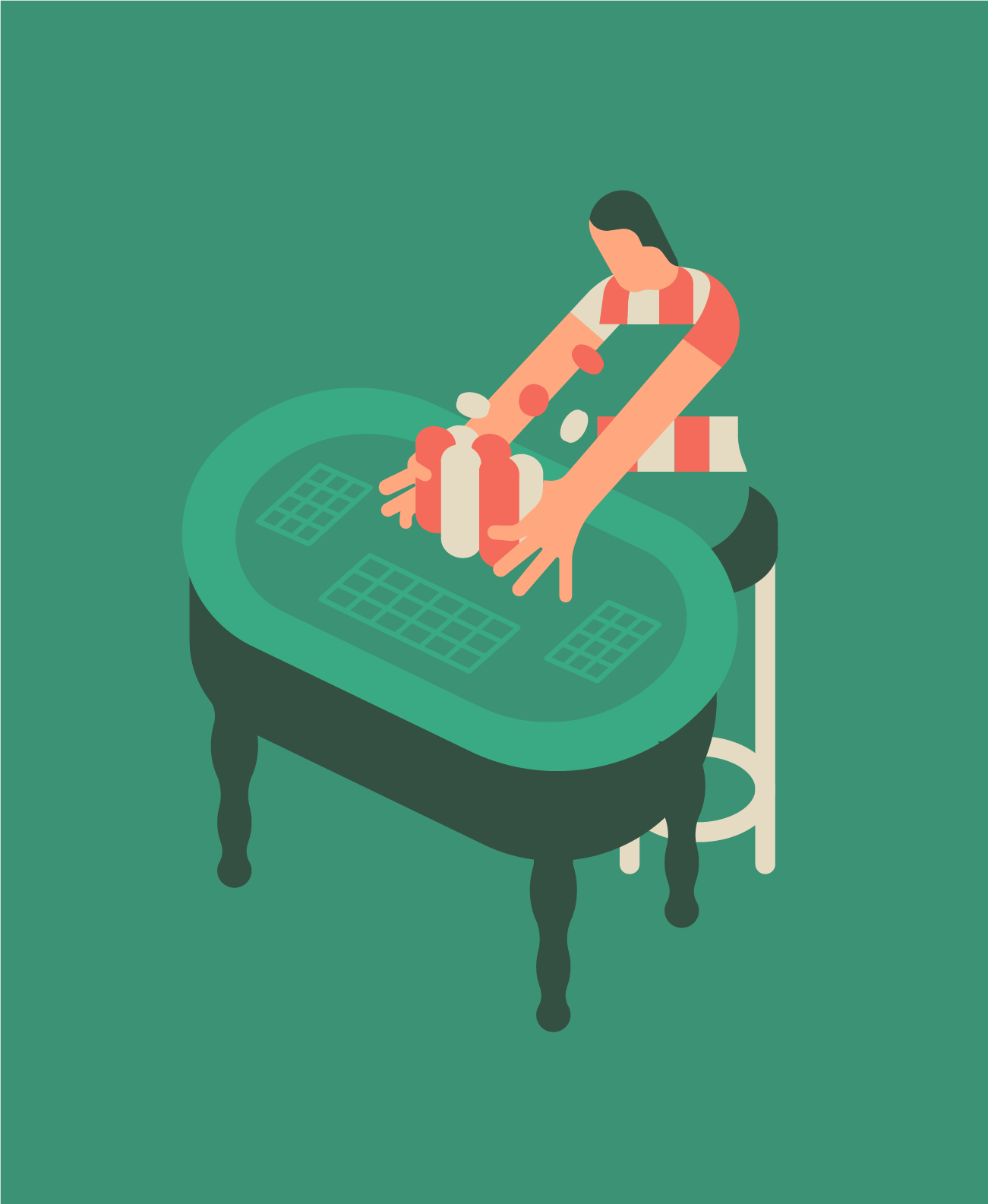 All in. Personal work
