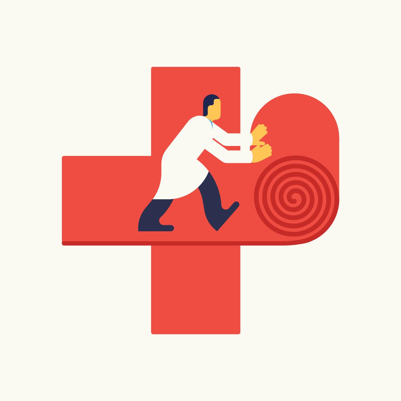 The path to health. Zifferdrei