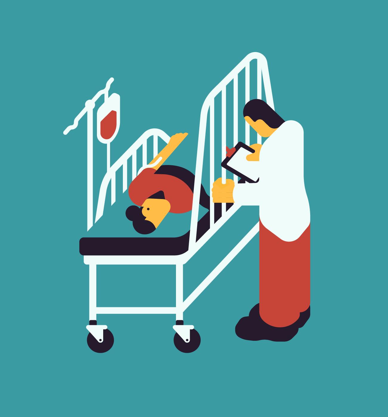 Healthcare hurdles. Brink